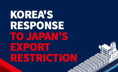 Koreas response to Japans  export restriction