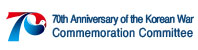 70th Anniversary of the Korean war l Commenmoration Committee Banner