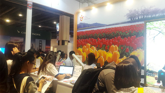 Visiting the Korea Pavilion at the Philippine Travel Tour Expo