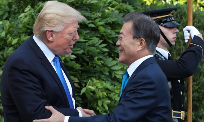 Korea's success is a reward for the U.S.: president
