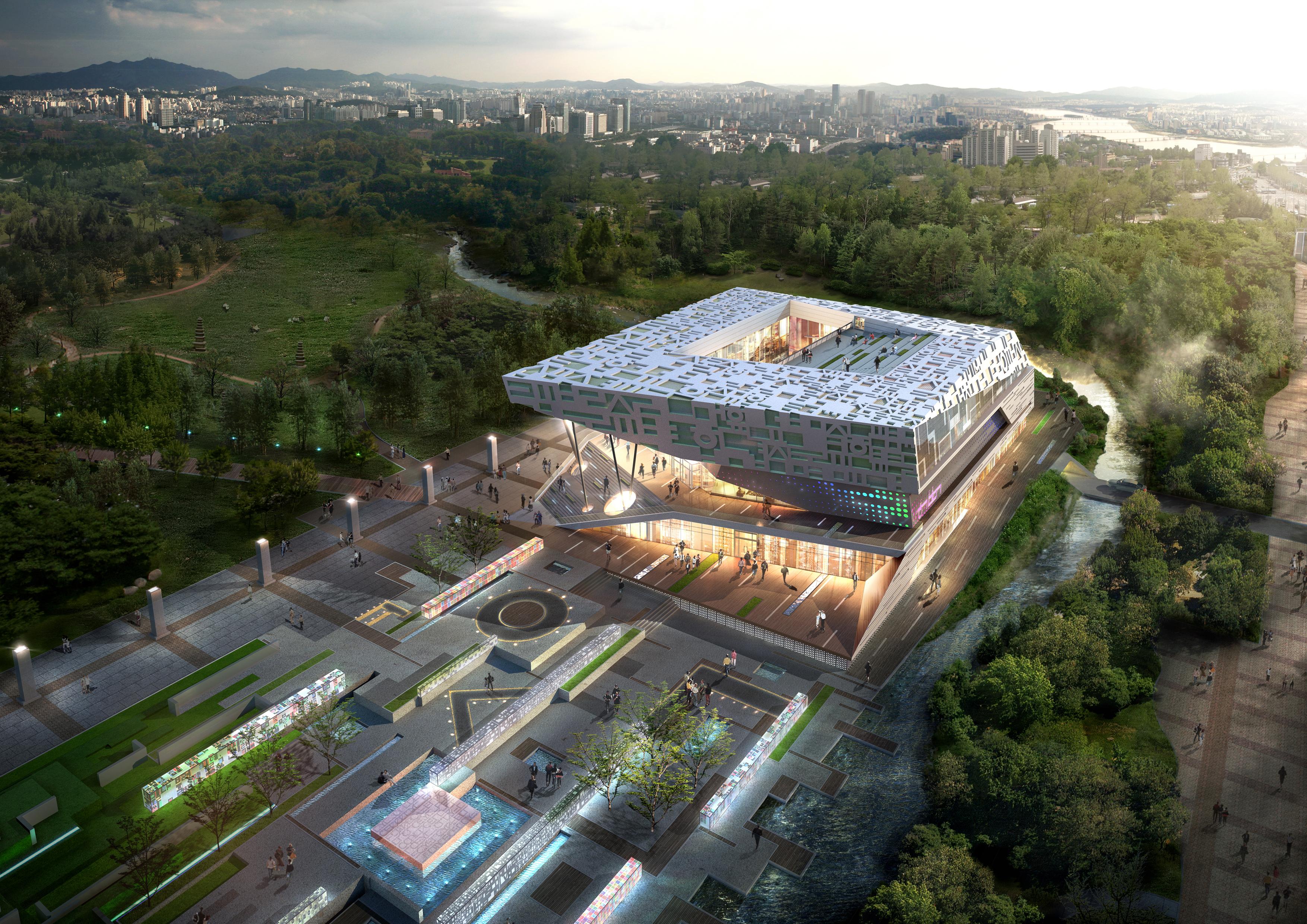보도자료 - 『한글박물관』건립 현상설계공모 입상작 발표 ...